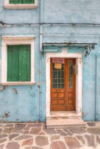 Bunt gestrichene Häuser, Burano, Venedig, Venetien, Italien, Europa