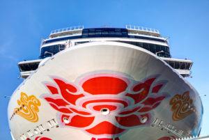 Cruise ship, Norwegian Joy, Meyer Werft, Papenburg, Emsland, Lower Saxony, Germany,