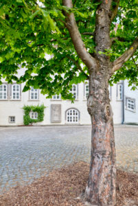 Welfenschloss, Schlossinnenhof, Weserrenaissance, historisch, Gifhorn, Niedersachsen, Lüneburger Heide, Deutschland, Europa