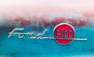 Ford F 100, US Car, Classic Car, Oldtimer, Detail,