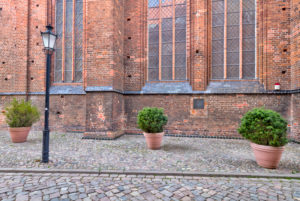 St. Georgen Church, Wismar, Baltic Sea coast, Mecklenburg-Vorpommern, Germany, Europe