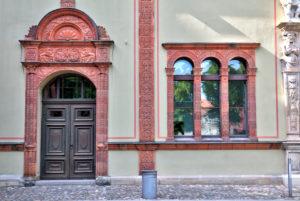 Fürstenhof, baroque architecture, Wismar, Baltic Sea Coast, Mecklenburg-Vorpommern, Germany, Europe
