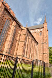 St.-Georgen-Kirche, Wismar, Ostseeküste, Mecklenburg-Vorpommern, Deutschland, Europa