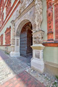 Fürstenhof, Residenzarchitektur, Wismar, Ostseeküste, Mecklenburg-Vorpommern, Deutschland, Europa