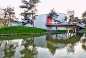 Autostadt, Seat Gebäude, Architektur, Wolfsburg, Niedersachsen, Deutschland, Europa
