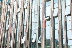 Universität, Neues Augusteum, Paulinum, Hausfassade, Fenster, Leipzig, Sachsen, Deutschland, Europa,