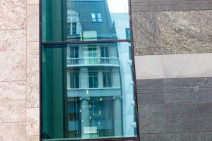 Hausfassade, Fenster, Stadtansicht, Fassade, Leipzig, Sachsen, Deutschland, Europa,