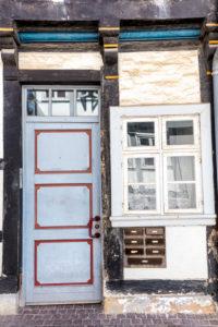 Facade, Front Door, Window, Truss, Wolfenbüttel, Lower Saxony, Germany, Europe