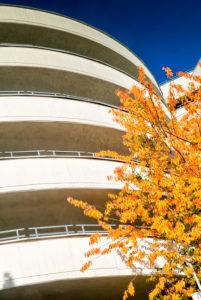 Parking Garage, Karstadt, Facade, Architecture, Braunschweig, Lower Saxony, Germany, Europe
