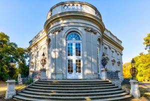 Schloss Richmond, facade, autumn, Braunschweig, Lower Saxony, Germany, Europe