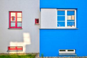Italienische Gärten, Bauhaus, Baudenkmal,  Architektur, OttoHaesler,  Herbst, Celle, Niedersachsen, Deutschland, Europa