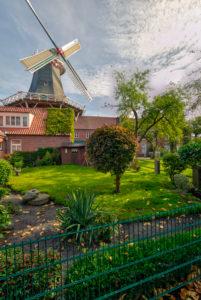 Westgaster Mühle, Architektur, Norddeich, Norden, Nordsee, Wattenmeer, Ostfriesland, Niedersachsen,
