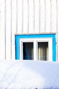 Winter, Fenster, Wasserkuppe, Frost, Schnee, Rhön, Hessen, Deutschland, Europa,