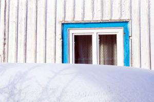 Winter, window, Wasserkuppe, frost, snow, Rhön, Hesse, Germany, Europe,
