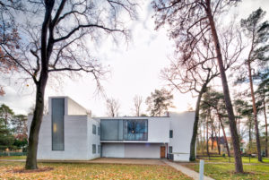 Master houses, Maholy-Nagy house, Bauhaus, Dessau-Roßlau, Saxony-Anhalt, Germany, architecture, house view,