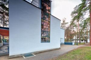 Masters' houses, Haus Muche, Bauhaus, Dessau-Roßlau, Saxony-Anhalt, Germany, architecture, house view,