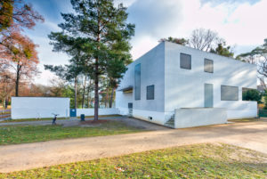 Masters' Houses, Gropius House, Bauhaus, Dessau-Roßlau, Saxony-Anhalt, Germany, architecture, house view,