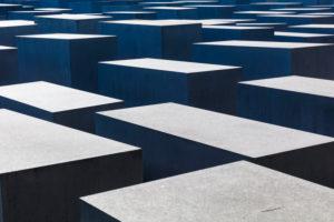 Holocaust-Mahnmal, Denkmal für die ermordeten Juden Europas, Architektur, Mitte, Berlin, Deutschland