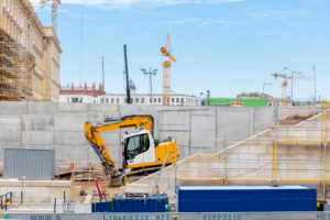 Humboldt Forum, Museum Island, facade, construction site, Mitte, Berlin, Germany
