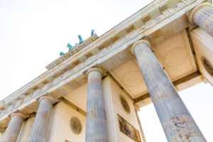Brandenburg Gate with Quadriga, Berlin, Germany