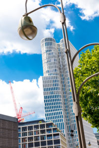 Upper West, high-rise building, architecture, Breitscheidplatz, Charlottenburg, Berlin, Germany