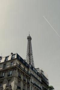 Avenue de la Bourdonnais mit Eiffelturm