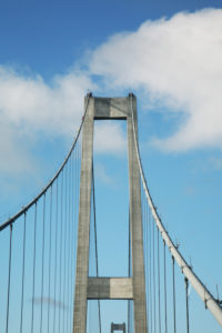 Ride over the Great Belt Fixed link  to Denmark