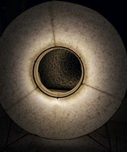 Magic moonlight in the bathroom