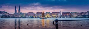 Deutschland, Hamburg, Innenstadt, Alster, Binnenalster