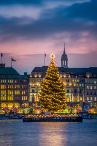 Germany, Hamburg, city centre, the Alster, the Inner Alster