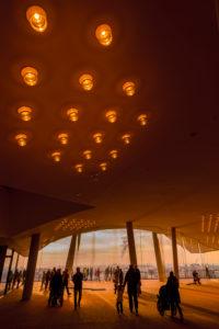 Germany, Hamburg, Elbe, harbor, HafenCity, Elbphilharmonie, Plaza