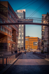 Germany, Hamburg, Elbe, harbor, St. Pauli, fish market, Holzhafen