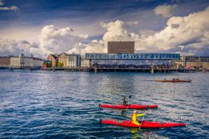 Europa, Dänemark, Kopenhagen, Hafen, Schauspielhaus