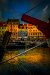Europa, Dänemark, Kopenhagen, Zentrum, Hafen, Nyhavn, Neuer Hafen