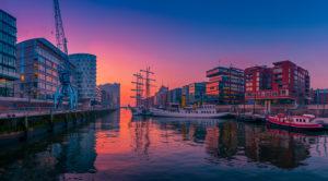 Deutschland, Hamburg, Elbe, Hafen, Hafencity, Schiffe