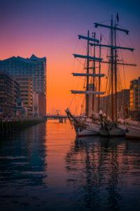Germany, Hamburg, the Elbe, harbour, hafencity, Elbphilharmonie