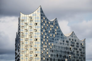 Germany, Hamburg, HafenCity, Elbphilharmonie