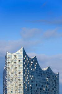 Germany, Hamburg, 'HafenCity' (city quarter), 'Elbphilharmonie' (concert hall)