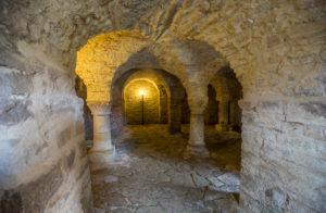 Deutschland, Sachsen-Anhalt, Ilsenburg, Krypta im Kloster Drübeck