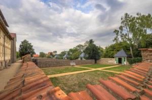 Deutschland, Sachsen-Anhalt, Ilsenburg, Kloster Drübeck, Gärten der Stiftsdamen