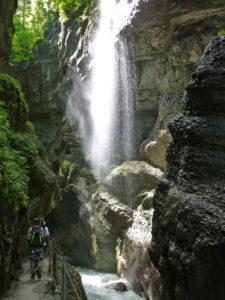Germany, Upper Bavaria, Garmisch-Partenkirchen (town), Partnachklamm (ravine),