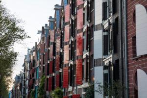 Niederlande, Holland, Amsterdam, Fensterläden