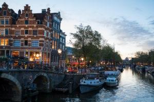 Niederlande, Holland, Amsterdam, Prinsengracht Ecke Brouwersgracht