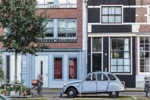 Niederlande, Holland, Amsterdam, Grachtenviertel, Auto, Citroen, alt