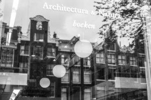 Niederlande, Holland, Amsterdam, Schaufenster, Spiegelung