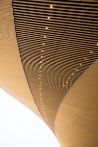 Finnland, Helsinki, Bibliothek, Oodi, Detail