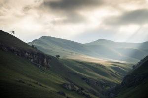Tafelberge der Giants Castle Formation, Südafrika