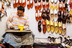 Shoemaker in Tunisia