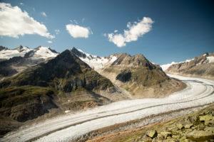 Aletschgletscher, Wallis, Schweiz
