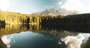 Lake Karersee, South Tyrol